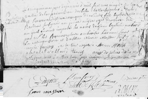 esclaves,baptême,saint-nazaire