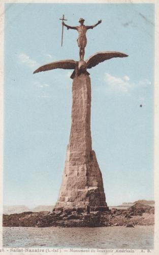 monument américain, Gertrude Vanderbilt Whitney, saint nazaire