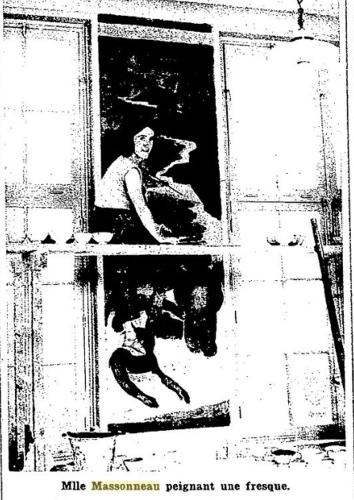 madelaine massonneau,saint-nazaire,ecole-jean-jaures,fresques
