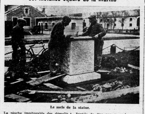 françois roger,la mécanique,saint-nazaire,statue,gare