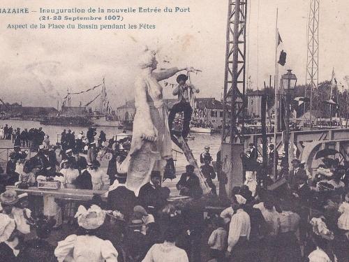 caravanniez,saint-nazaire,sculpteur,statue