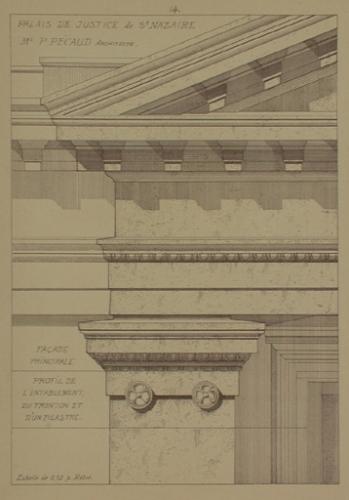 pécaud, architecte, saint-nazaire, justice, palais, sous-préfecture, théatre