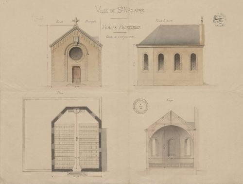 temple,saint-nazaire,protestant,protestants,jospin,le-berre,sohier