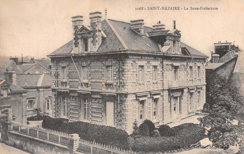 pécaud,architecte,saint-nazaire,justice,palais,sous-préfecture,théatre