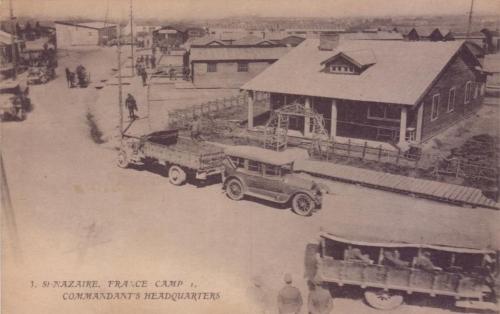 camp-N°1, américains, 1917, saint-nazaire