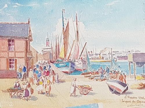 petit-maroc-saint-nazaire,sultan, beilvaire, marché, poissons, pecheurs
