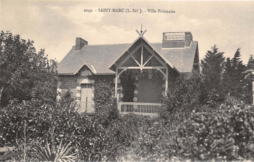 saint marc,saint nazaire,wieczffinski,de serres, villa-polonaise