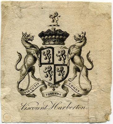lyston court,lord ernest arthur george pomeroy 7ème vicomte harberton, Fairlie Harmer vicomtesse Harberton