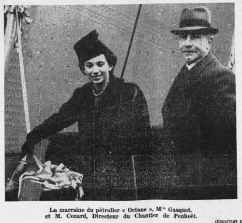paul-Eùmile Connard, chantiers de Penouet