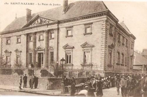 pécaud, architecte, saint-nazaire, justice, palais