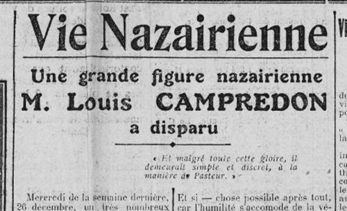 Louis-Campredon, Saint-Nazaire