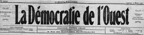 la-démocratie-de-l-ouest, presse, saint-nazaire, journal