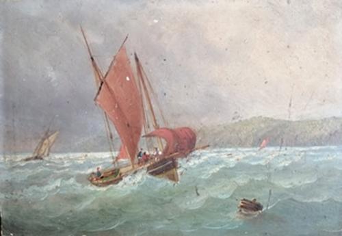 beilvaire,victor, marine,peinture,saint-nazaire